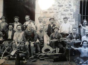 Ouvriers de Gudanes