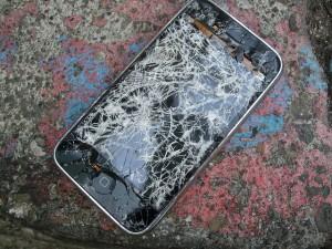 Téléphone brisé