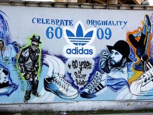 Murale Adidas